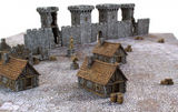 MEDIEVAL HOUSES SET