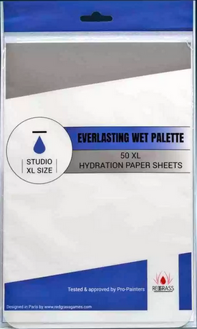 50 x Hydration paper sheets for Studio XL