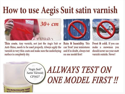 Aegis Suit Satin Varnish