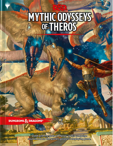 MYTHIC ODYSSEYS OF THEROS - Source book