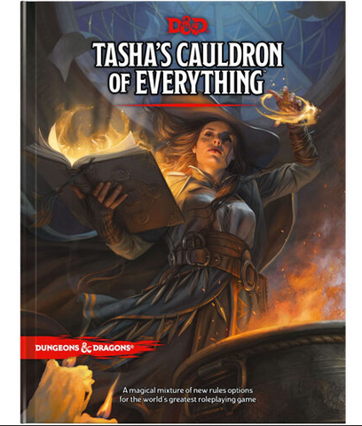 TASHAS CAULDRON OF EVERYTHING - Sourcebook