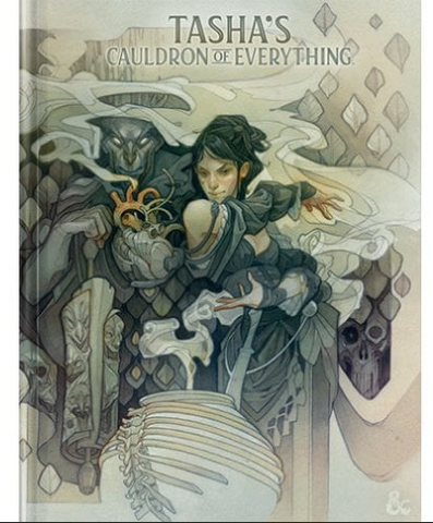 TASHAS CAULDRON OF EVERYTHING - Sourcebook (Alt Cover)