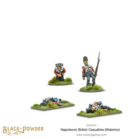 Napoleonic British Casualties (Waterloo)