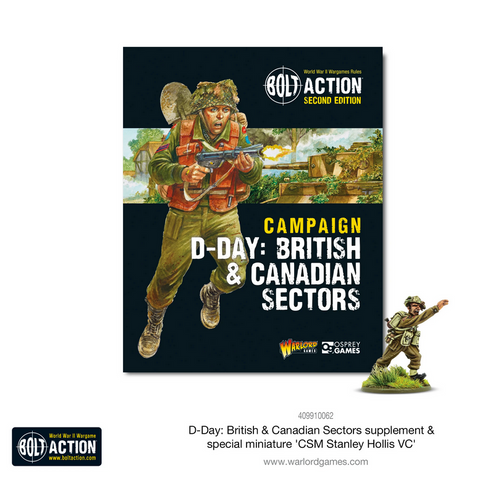 D-Day: British & Canadian Sectors - Bolt Action Campaign BOOK