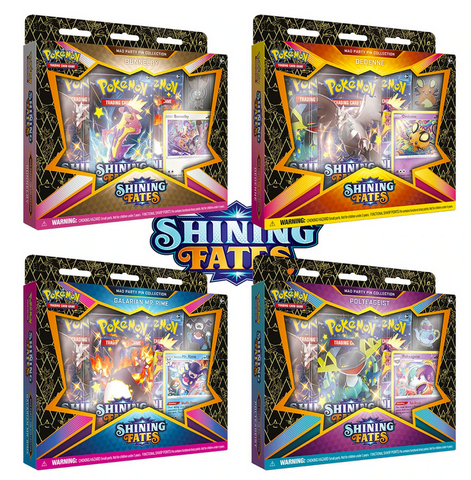 SHINING FATES - Mad Party Pin Collection DISPLAY (SWSH 4.5)