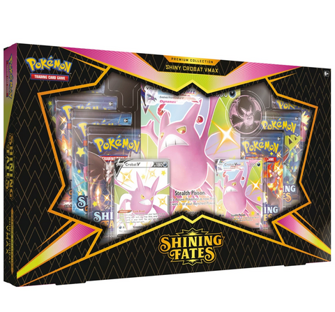 SHINING FATES Premium Collection - Shiny Crobat VMAX / Shiny Dragapult VMAX (SWSH 4.5)