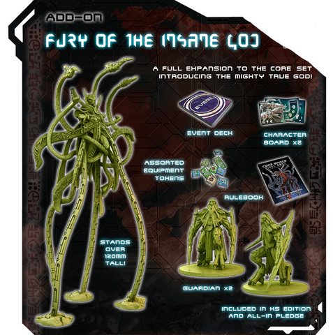 FURY OF THE INSANE GOD - Expansion
