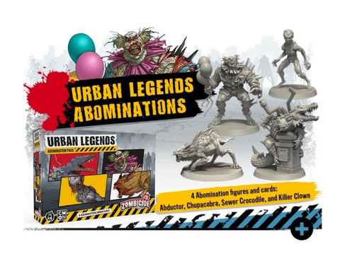 ZOMBICIDE - V2 - Urban Legends Abomination Pack