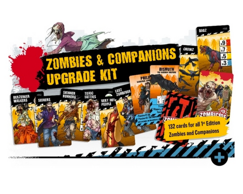 ZOMBICIDE - V2 Zombies and Companions Upgrade Kit