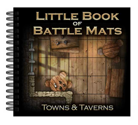 Little Book of Battle Mats - Towns & Taverns Edition (6x6