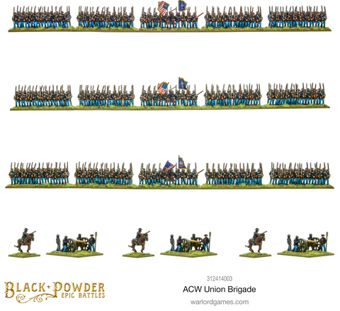 Epic Battles: ACW Union Brigade