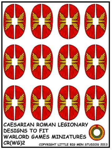 Caesarian Roman shield design 2