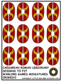 Caesarian Roman shield design 10