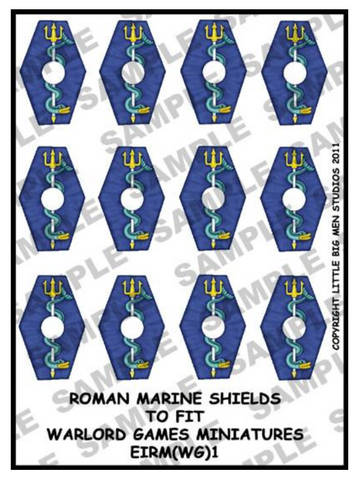 Roman Marine shield designs 1