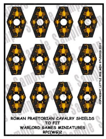 Praetorian Cavalry shield designs 2