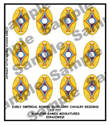 EIR Auxiliary Cavalry shield designs 2