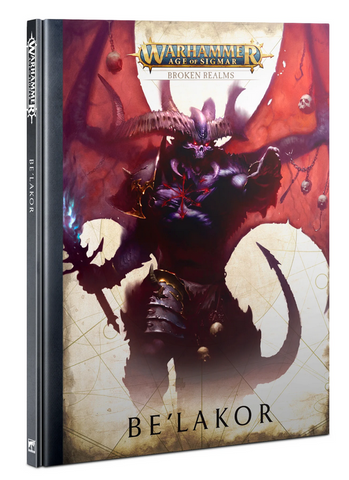 BROKEN REALMS: BE'LAKOR (HB)