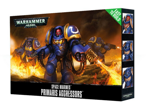 EASY TO BUILD PRIMARIS AGRESSORS