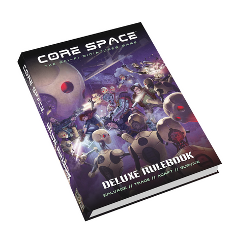 CORE SPACE - Deluxe Rulebook