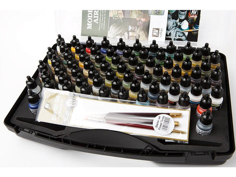 MODEL AIR SET - Basic Range Box (72 colours + 3 brushes + carry case)
