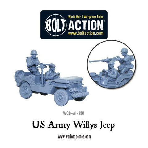 US Army Willys Jeep
