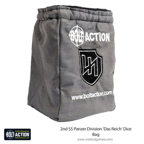 Bolt Action 2nd SS Panzer Division 'Das Reich' Dice Bag