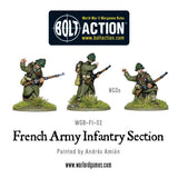 FRENCH Army Infantry Section