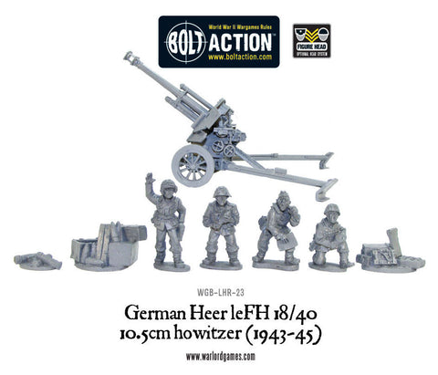 German Heer LeFH 18 10.5cm Medium Howitzer (1943-45)
