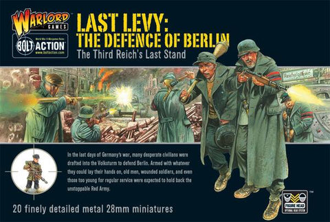 Last Levy. The Defence of Berlin