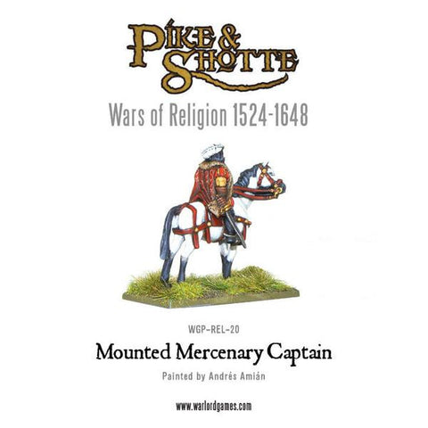 Mercenary Captain Mounted (Wars of Religion)