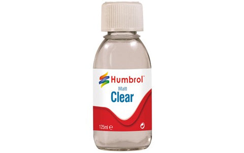 Clear Matt 125ml Bottle