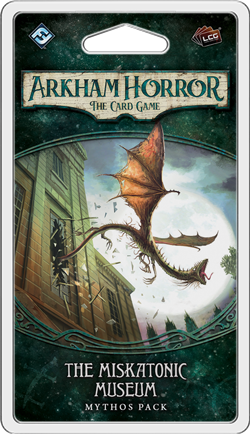 THE MISKATONIC MUSEUM - Mythos Pack: Arkham Horror LCG Exp.