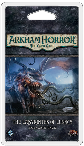 THE LABYRINTHS OF LUNACY - Standalone Adventure: Arkham Horror LCG