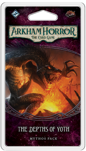 THE DEPTHS OF YOTH - Mythos Pack: Arkham Horror LCG Exp.