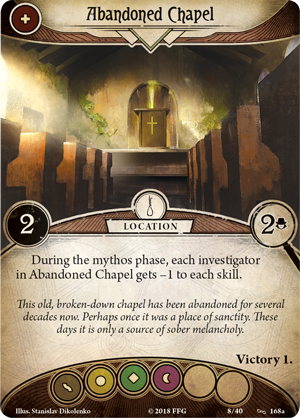 THE WAGES OF SIN - Mythos Pack: Arkham Horror LCG Exp.