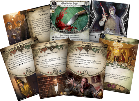 MURDER AT THE EXCELSIOR HOTEL - Standalone Adventure: Arkham Horror LCG