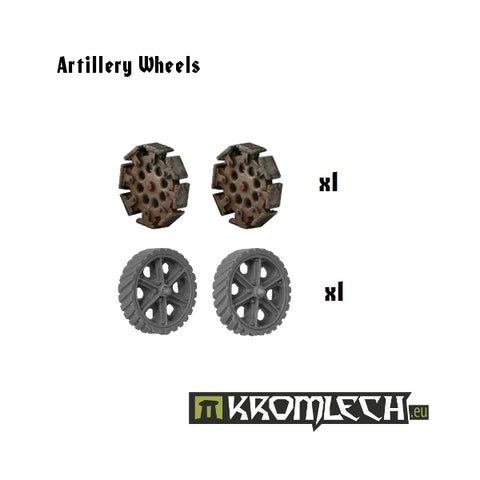 Artillery Wheels (4)