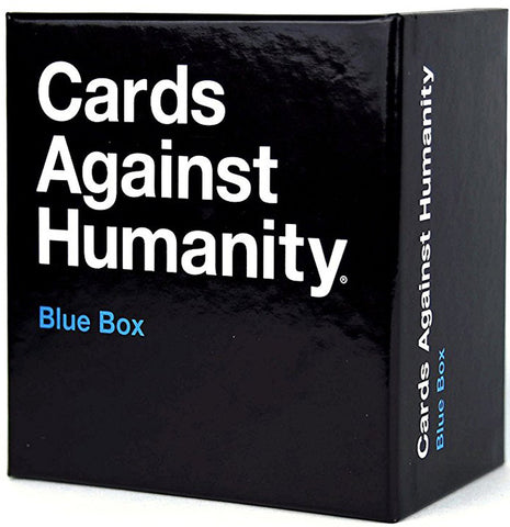 CARDS AGAINST HUMANITY - BLUE BOX