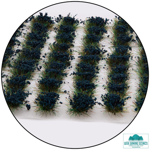 Cornflower Blue - 6mm Self Adhesive Static Grass Tufts x 100