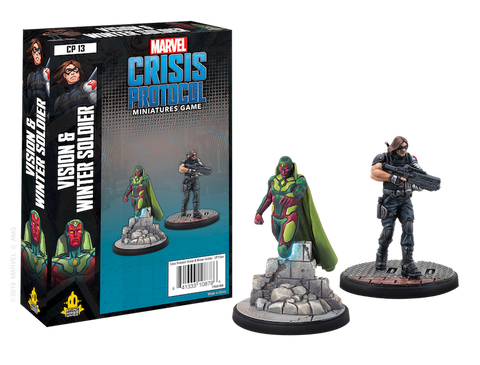 VISION AND WINTER SOLDIER - Character pack