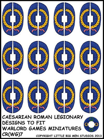Caesarian Roman shield design 7