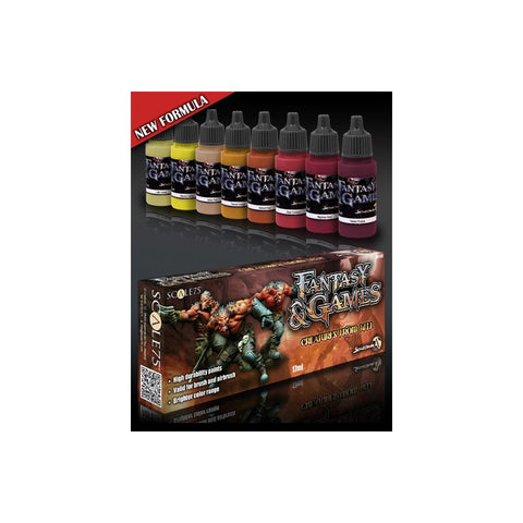 CREATURES FROM HELL Paint Set