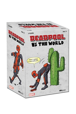 DEADPOOL vs THE WORLD- Party Card Game