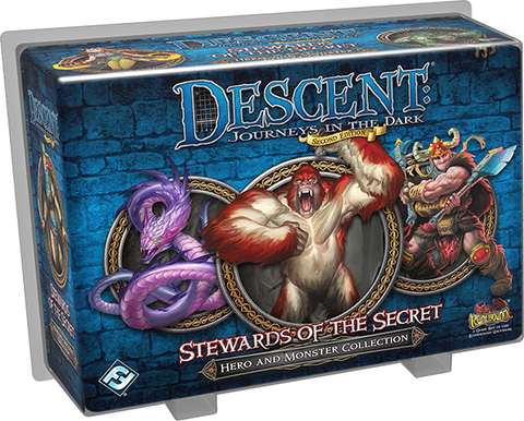 STEWARDS OF THE SECRET - Hero and Monster Collection