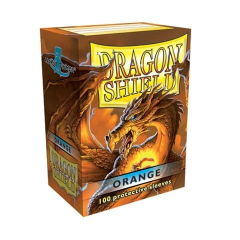 Dragon Shield Sleeves Orange (100)