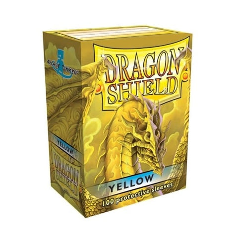 Dragon Shield Sleeves Yellow (100)