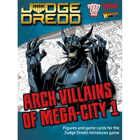 ARCH VILLAINS OF MEGA CITY 1