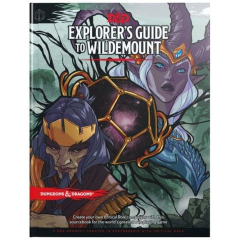 EXPLORER'S GUIDE TO WILDEMOUNT - Source book