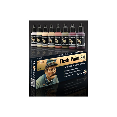 FLESH Paint Set