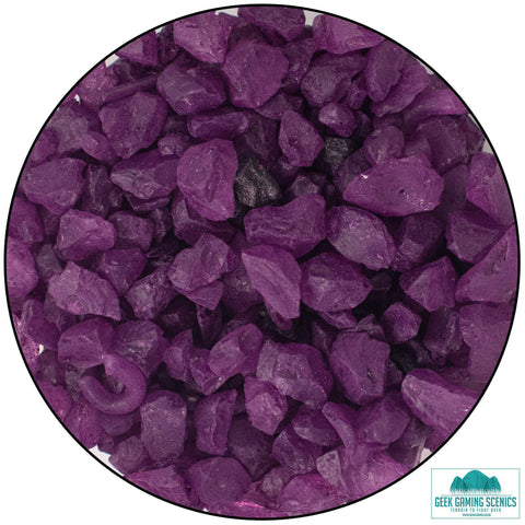 Glass Shards 4-10 mm aubergine (400 g)